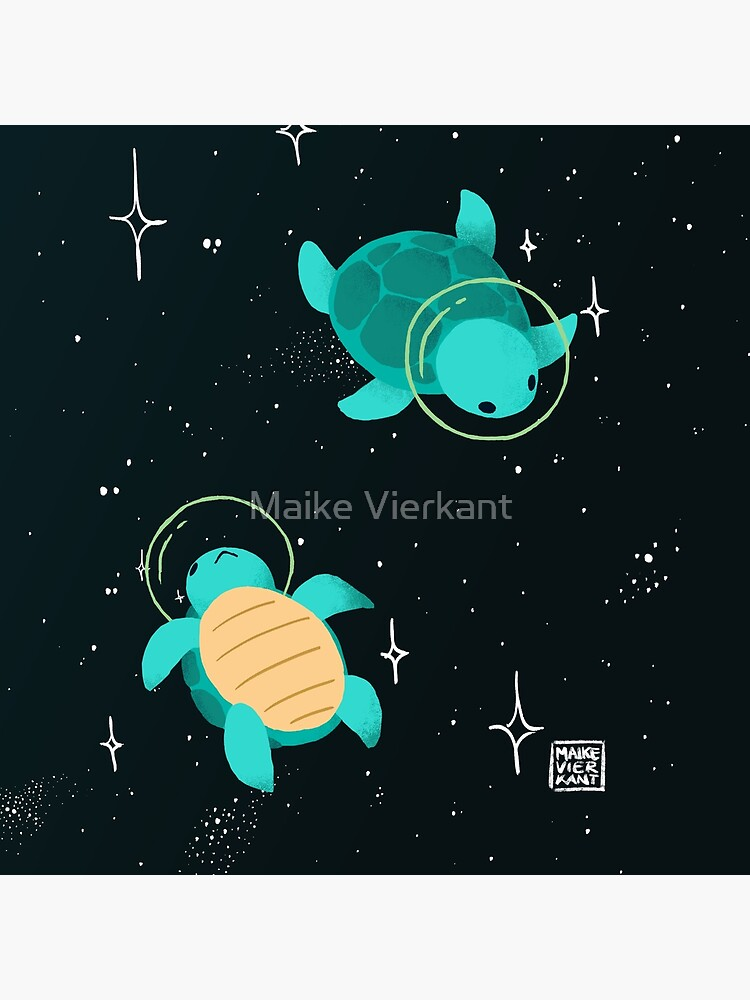 Space Turtles by Vierkant