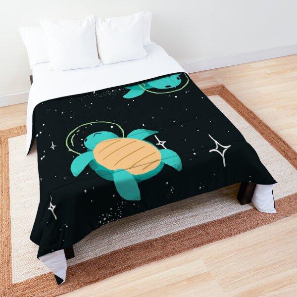 Space Turtles Tagesdecke