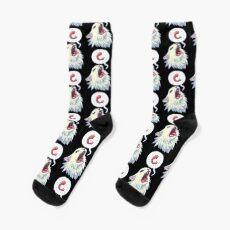 8-bit Shrimpin' Thurston the cat Socks