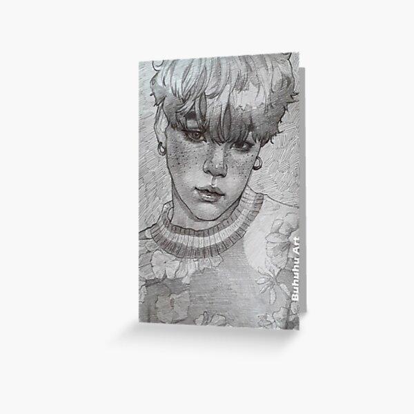 Yoongi - sketch Greeting Card