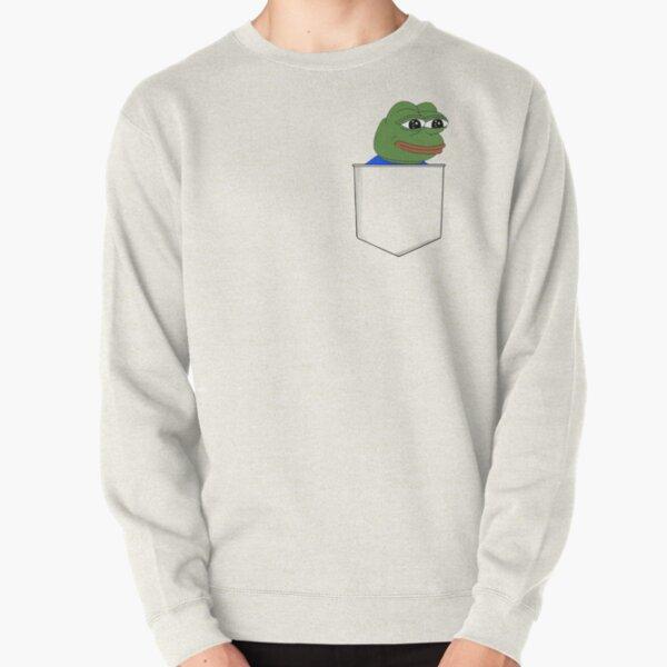 Happy Pocket Pepe Pullover Sweatshirt