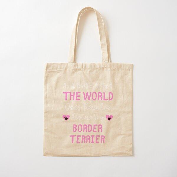 Canvas Shopping Tote Bag Border Terrier Head Border Terrier Dog Beach Bags for Women