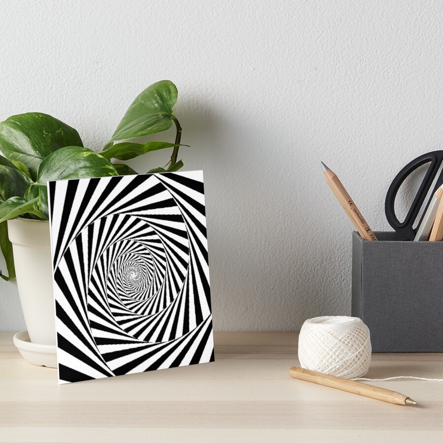 Optical Illusion Beige Swirl,  gbra,6x6,900x900