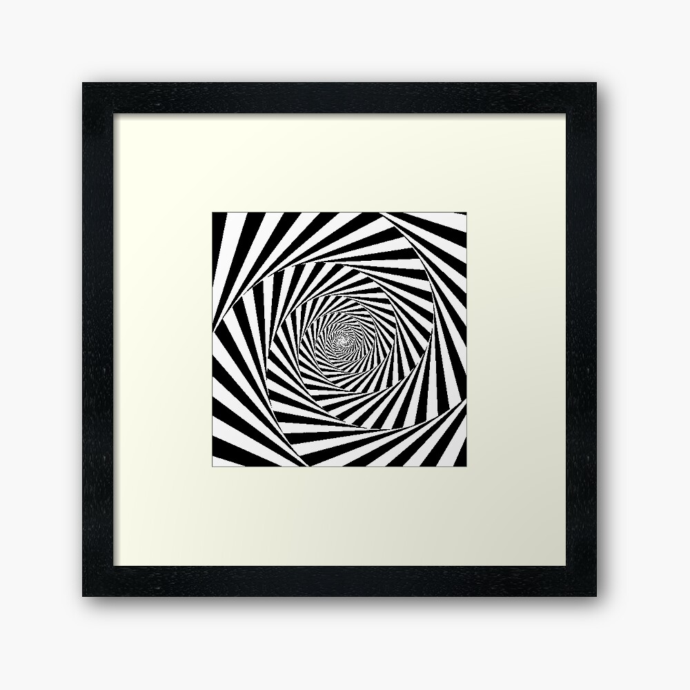 Optical Illusion Beige Swirl,  fp,840x830,black,off_white,box20,s,f8f8f8-pad,1000x1000,f8f8f8