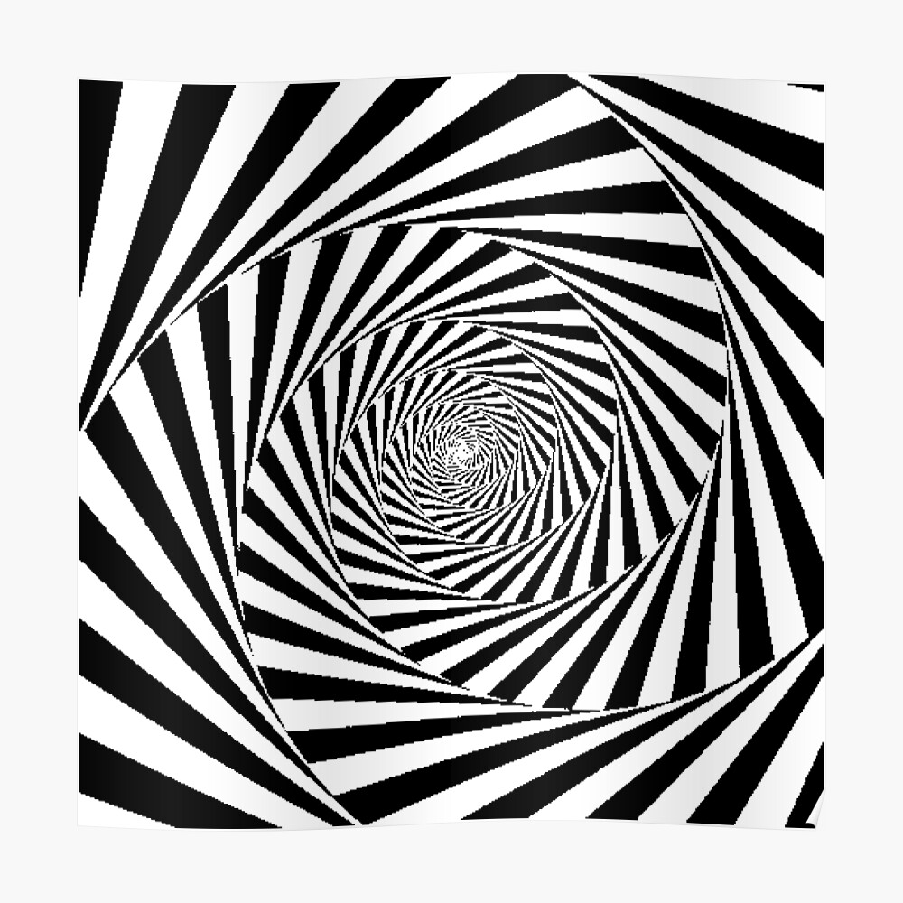 Optical Illusion Beige Swirl,  poster,840x830,f8f8f8-pad,1000x1000,f8f8f8