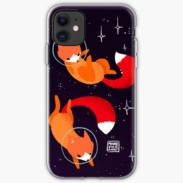 Space Foxes iPhone Soft Case