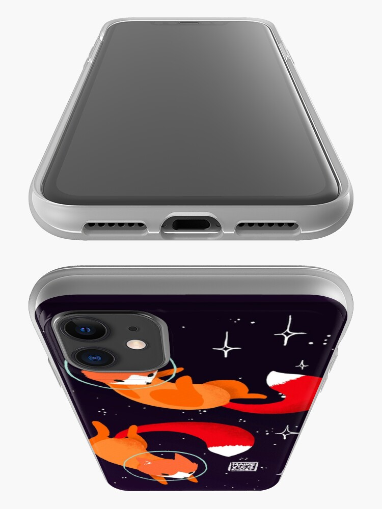 Alternate view of Space Foxes iPhone Case & Cover