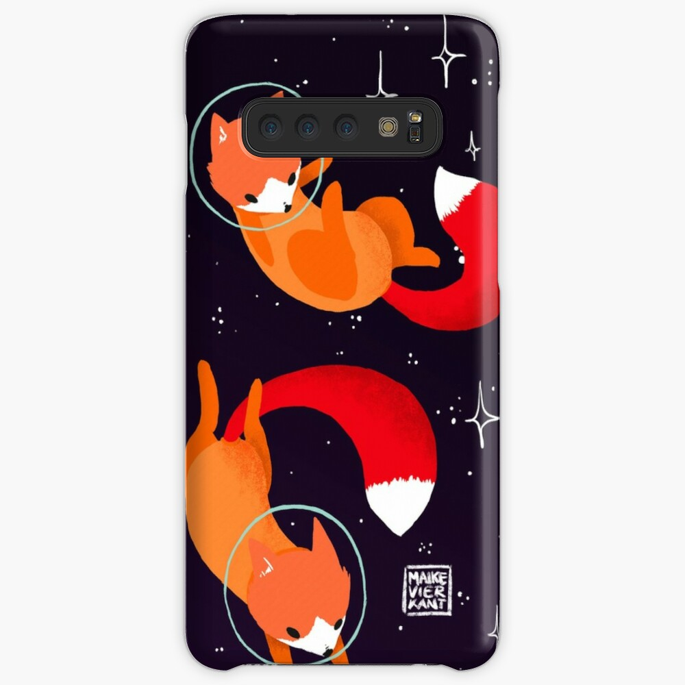 Space Foxes Case & Skin for Samsung Galaxy