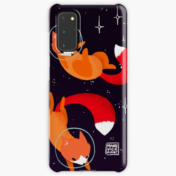 Space Foxes Samsung Galaxy Snap Case