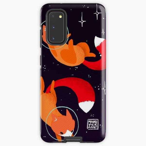 Space Foxes Samsung Galaxy Tough Case
