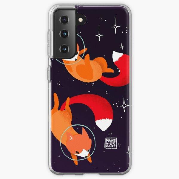 Renards de l'espace Coque souple Samsung Galaxy