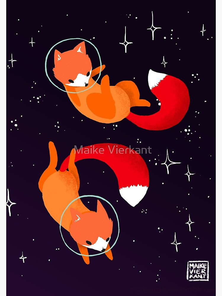 Space Foxes by Vierkant