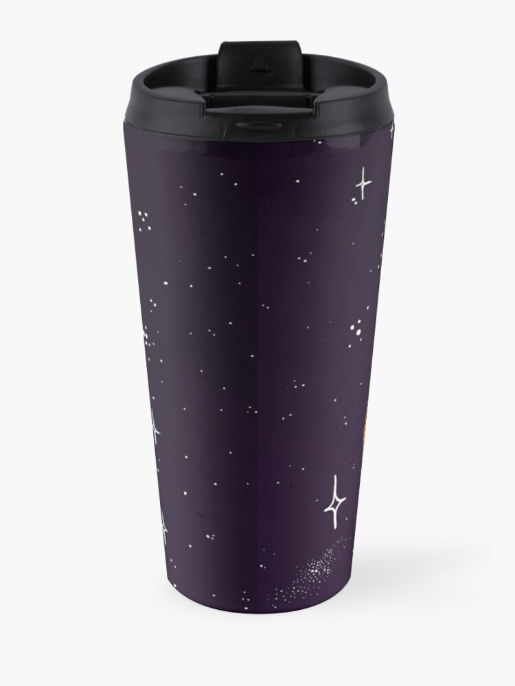 Alternate view of Space Foxes Travel Mug