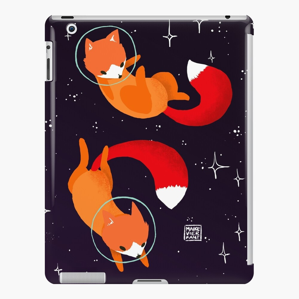 Space Foxes iPad Case & Skin