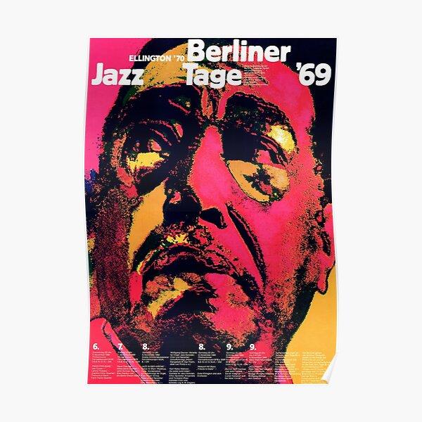 Berlin Jazz Festival 1969 Poster