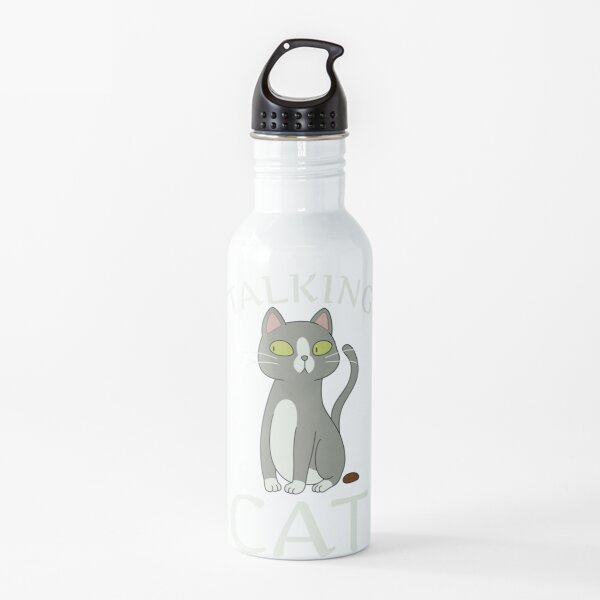 Talking Cat Water Bottle