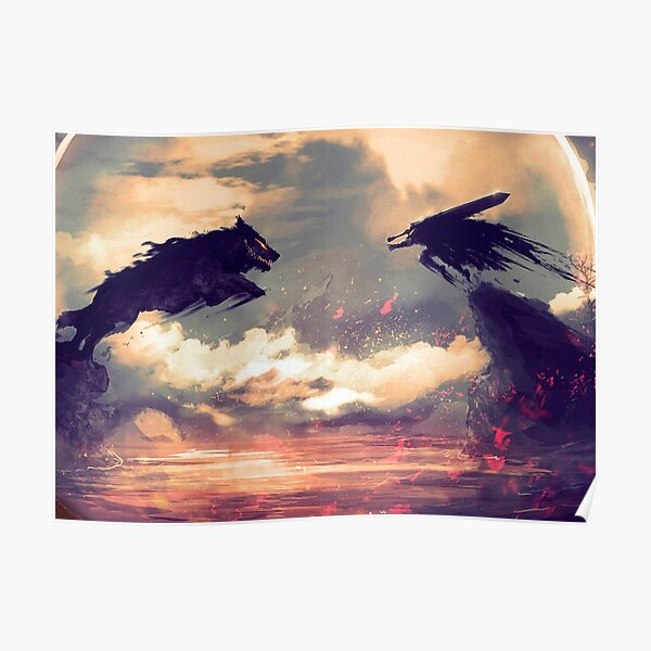 Armure de démon berserk Poster