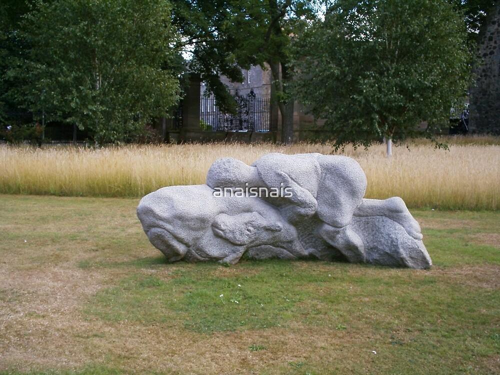 sculpture - nearby to Edinburgh Parliament by anaisnais