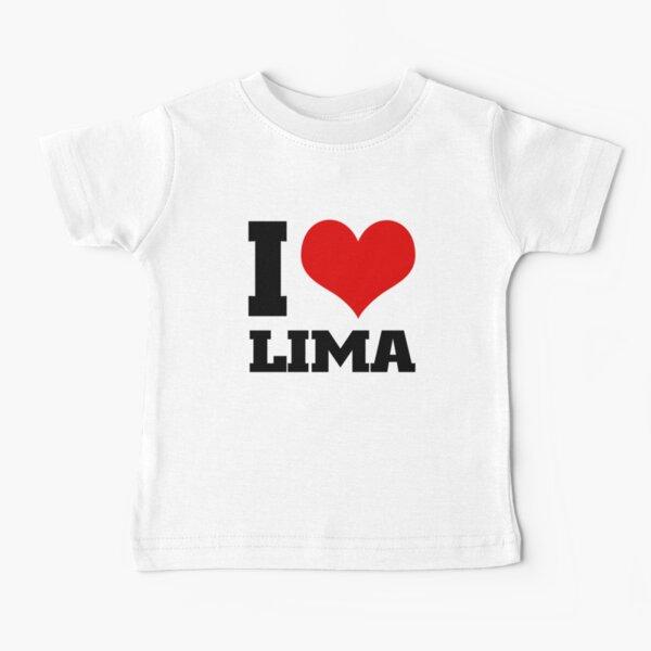 I love LIMA Peru Baby T-Shirt