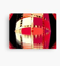 Moat Around The Tower of Portals  (UF0285) Canvas Print