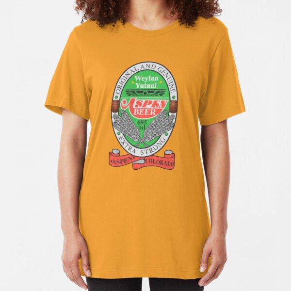 Aspen Beer Slim Fit T-Shirt