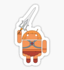 He-Droid (no text) Sticker
