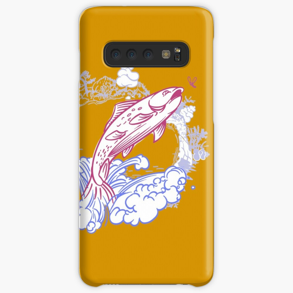 Fish & fly Case & Skin for Samsung Galaxy