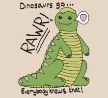Dinosaurs Go Rawr!
