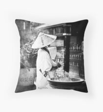 O-henro-san Throw Pillow