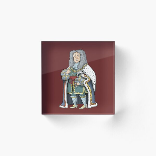 King James II Acrylic Block