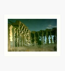 Paris - Soft columns. Art Print