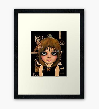 peace and unity Framed Print