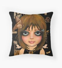 peace and unity Throw Pillow