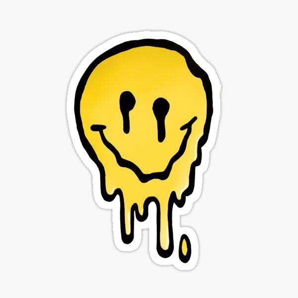 Dripping Smile Sticker