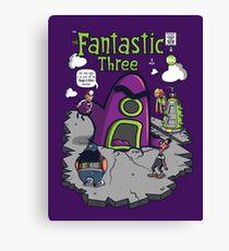 Fantastic Three Canvas Print