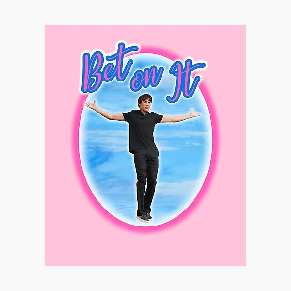 Bet on It Troy Bolton Zac Efron in High School Musical Photographic Print