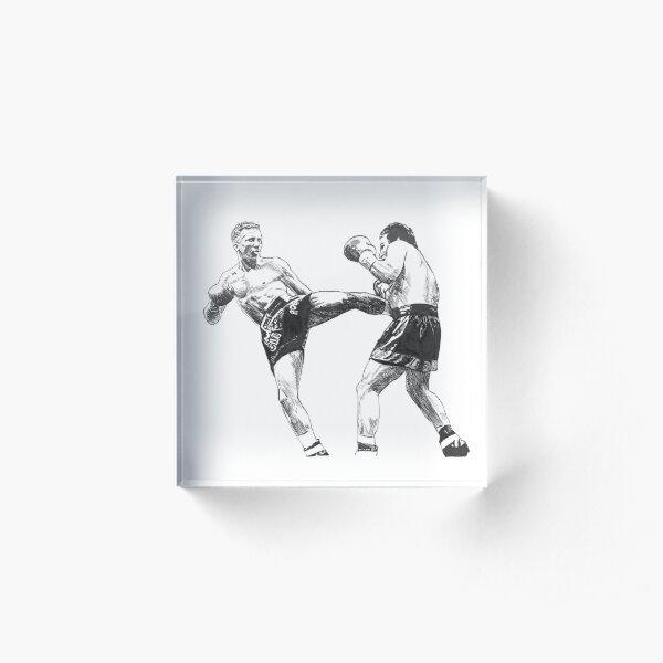 Muay Thai Motivacional impresión fotográfica 08 motivación citar Cartel Mma Artes Marciales