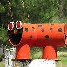Ladybird Mailbox by Marilyn Harris