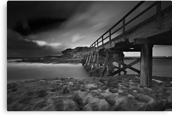 Clouded Bridge by Mark  Lucey