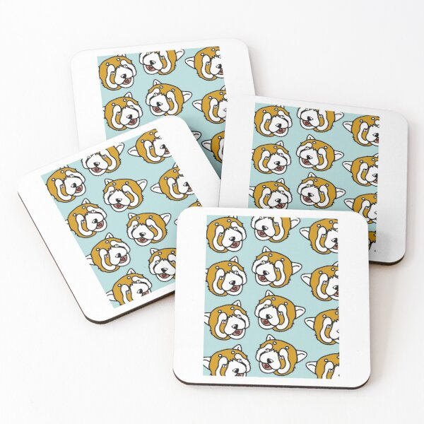 Red panda Coasters (Set of 4)