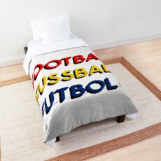 Football Fussball Futbol Comforter