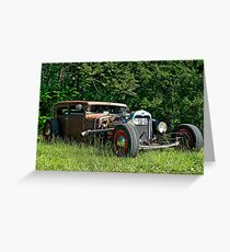 Rat Rod Rumble TN Greeting Card