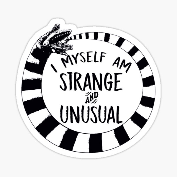 Beetlejuice Stickers Redbubble