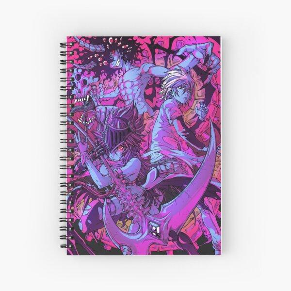 Dark luster - 1 Spiral Notebook