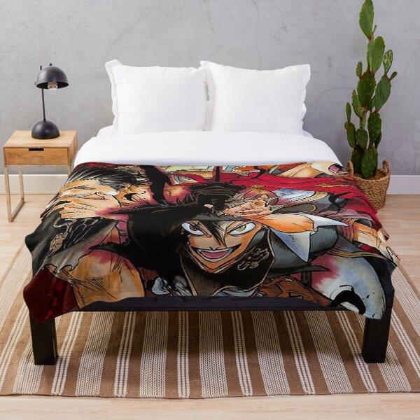 Black Clover art Throw Blanket
