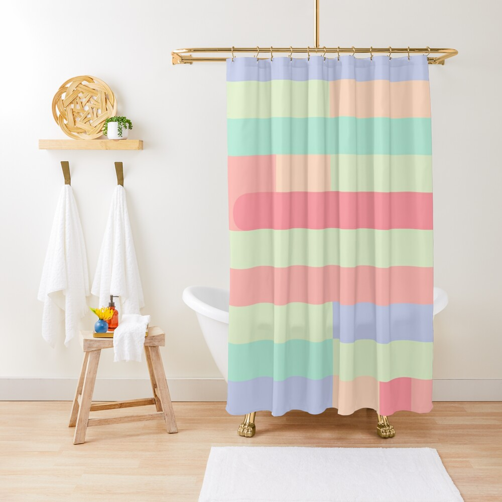 Candy Lane Shower Curtain
