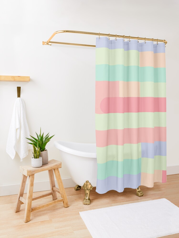 Alternate view of Candy Lane Shower Curtain
