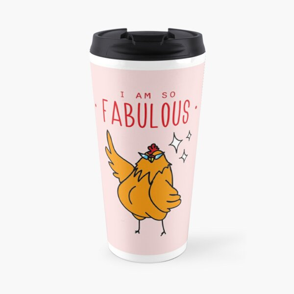 Fabulous Hen Travel Mug