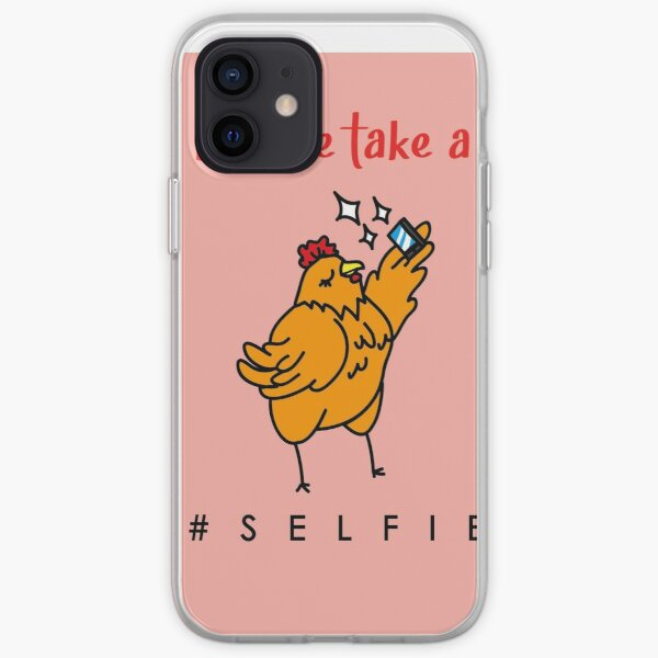 Selfie Hen iPhone Soft Case