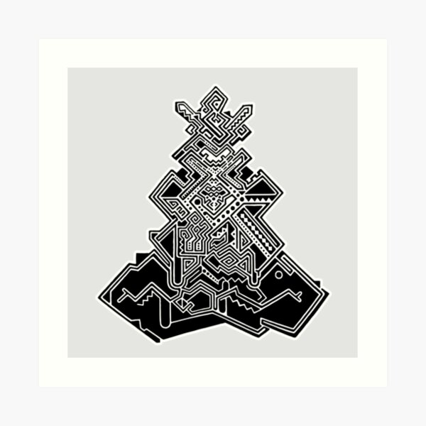 Self Transforming Machine Elf Art Print
